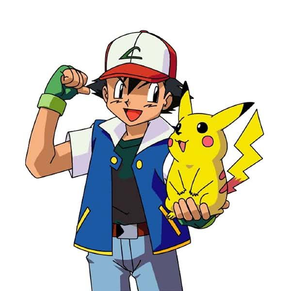 Pokemon and Pikachu