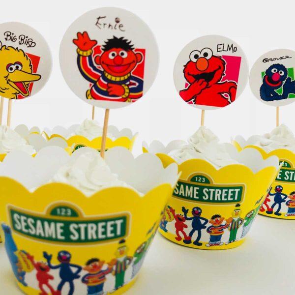 Sesame Street Cake Wrapper
