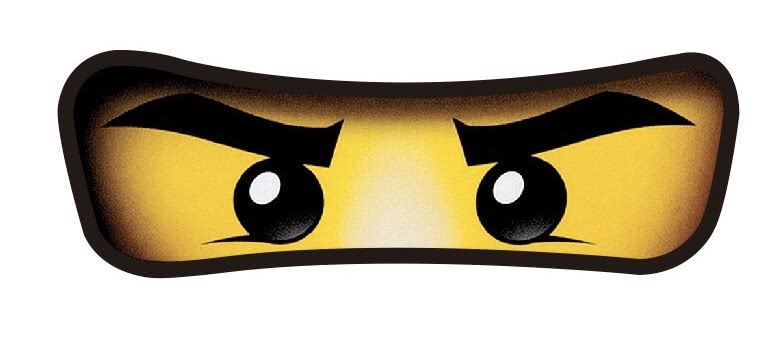 Lego Ninjago Eyes Stickers set