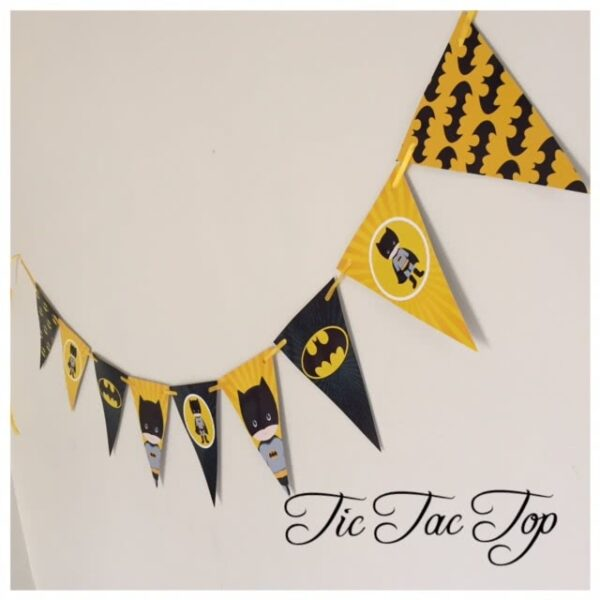 Batman Bunting Flags