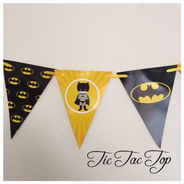 Batman Bunting Flags