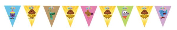 Hey Duggee Bunting Flags Banner