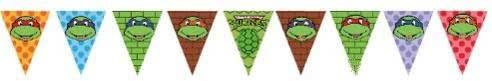 TMNT Ninja Turtles Bunting Flags Banner