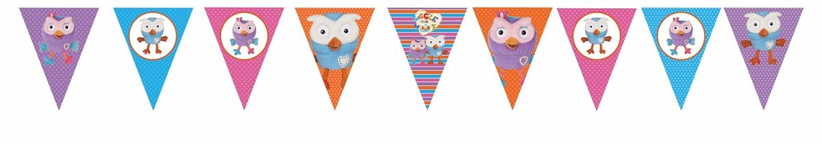Giggle & Hoot Hootabelle Bunting Flags Banner