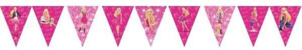 Barbie Doll Bunting Flags Banner