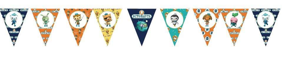 The Octonauts Bunting Flags Banner