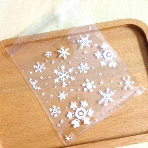 Frozen Snowflake Cookie Lolly Bags - 20pcs