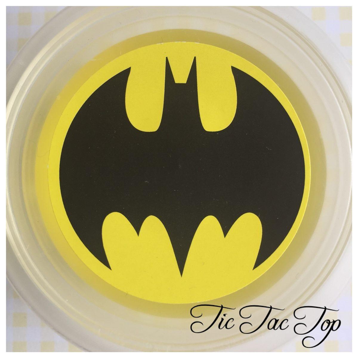 Batman Jelly Cups - 12/set