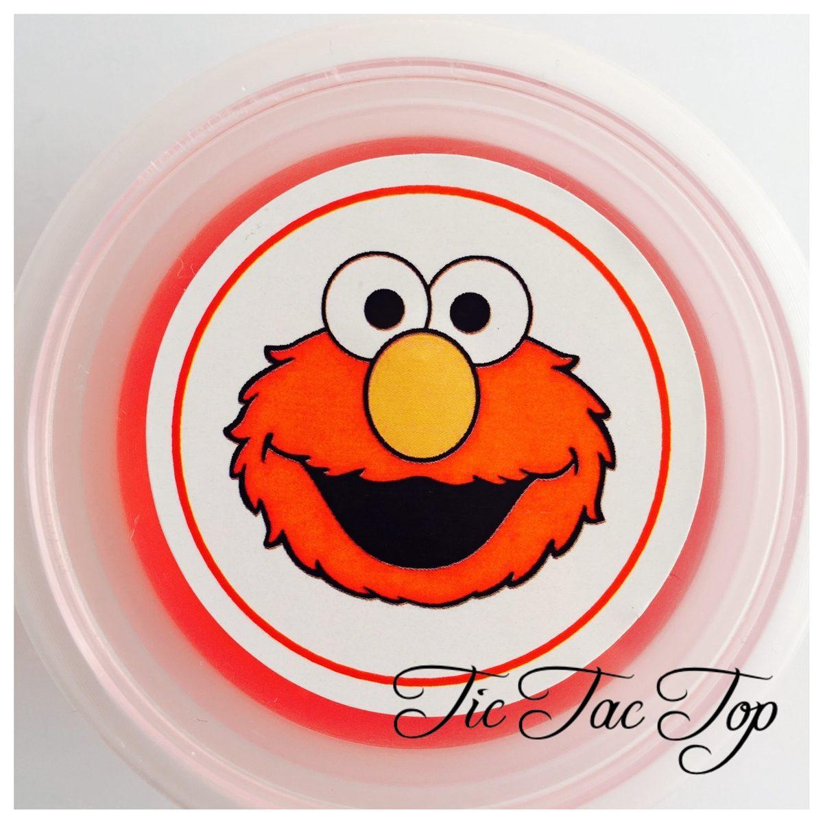 Elmo Sesame Street Jelly Cups - 12/set