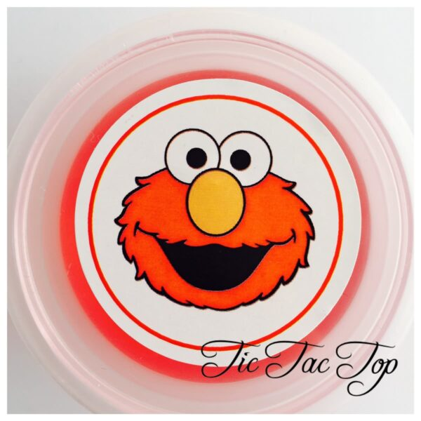 Elmo Sesame Street Jelly Cups - 12/set