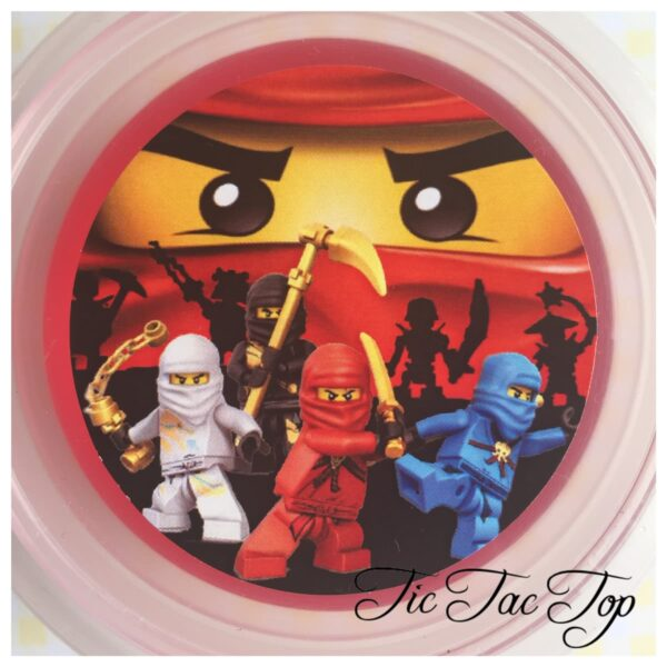 Lego Ninjago Jelly Cups - 12/set