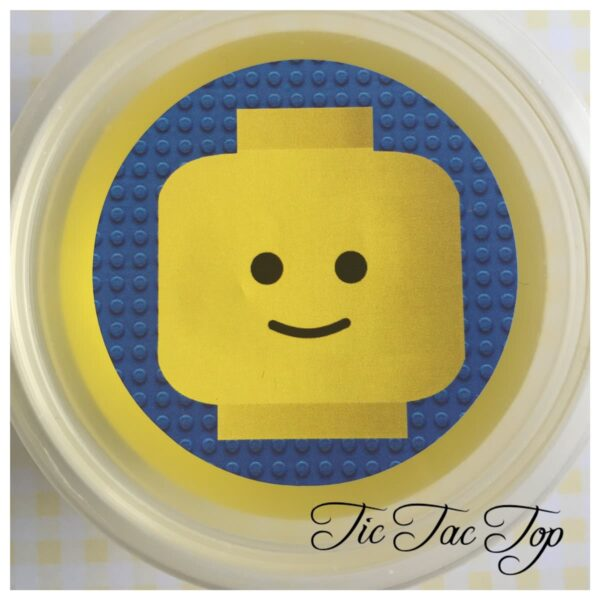 Lego Man Jelly Cups - 12/set