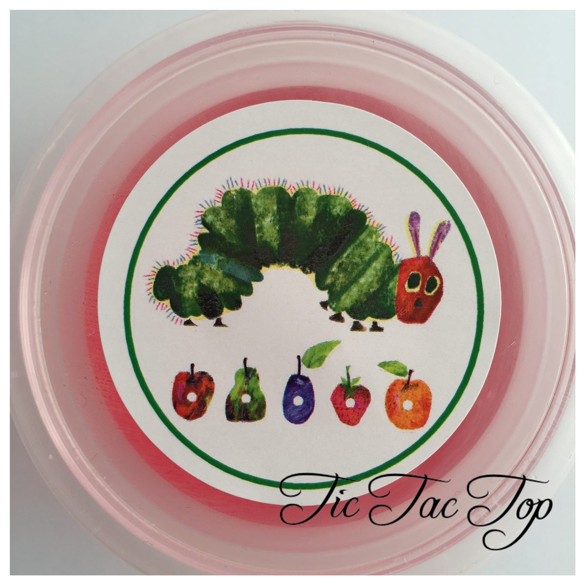 The Very Hungry Caterpillar Jelly Cups - 12/set