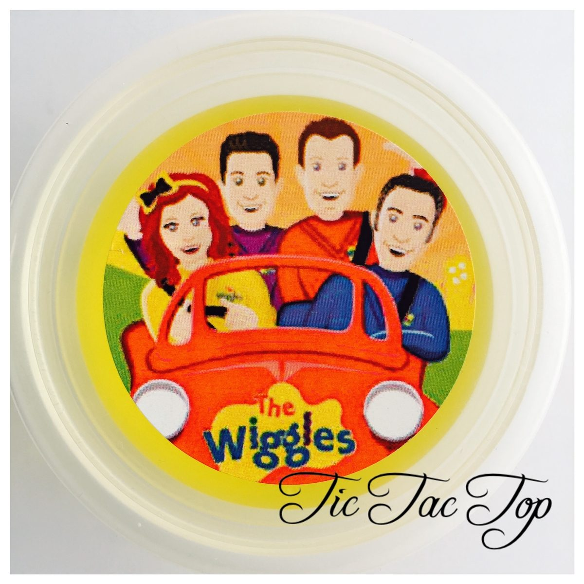 The Wiggles Jelly Cups - 12/set