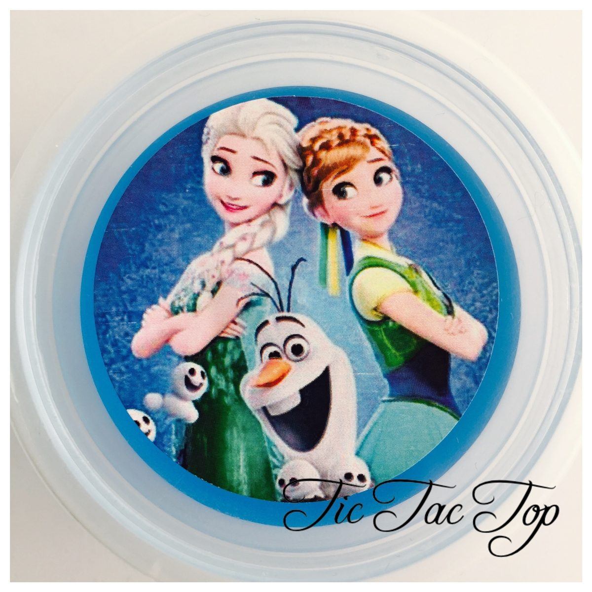 Frozen Elsa & Anna Jelly Cups - 12/set