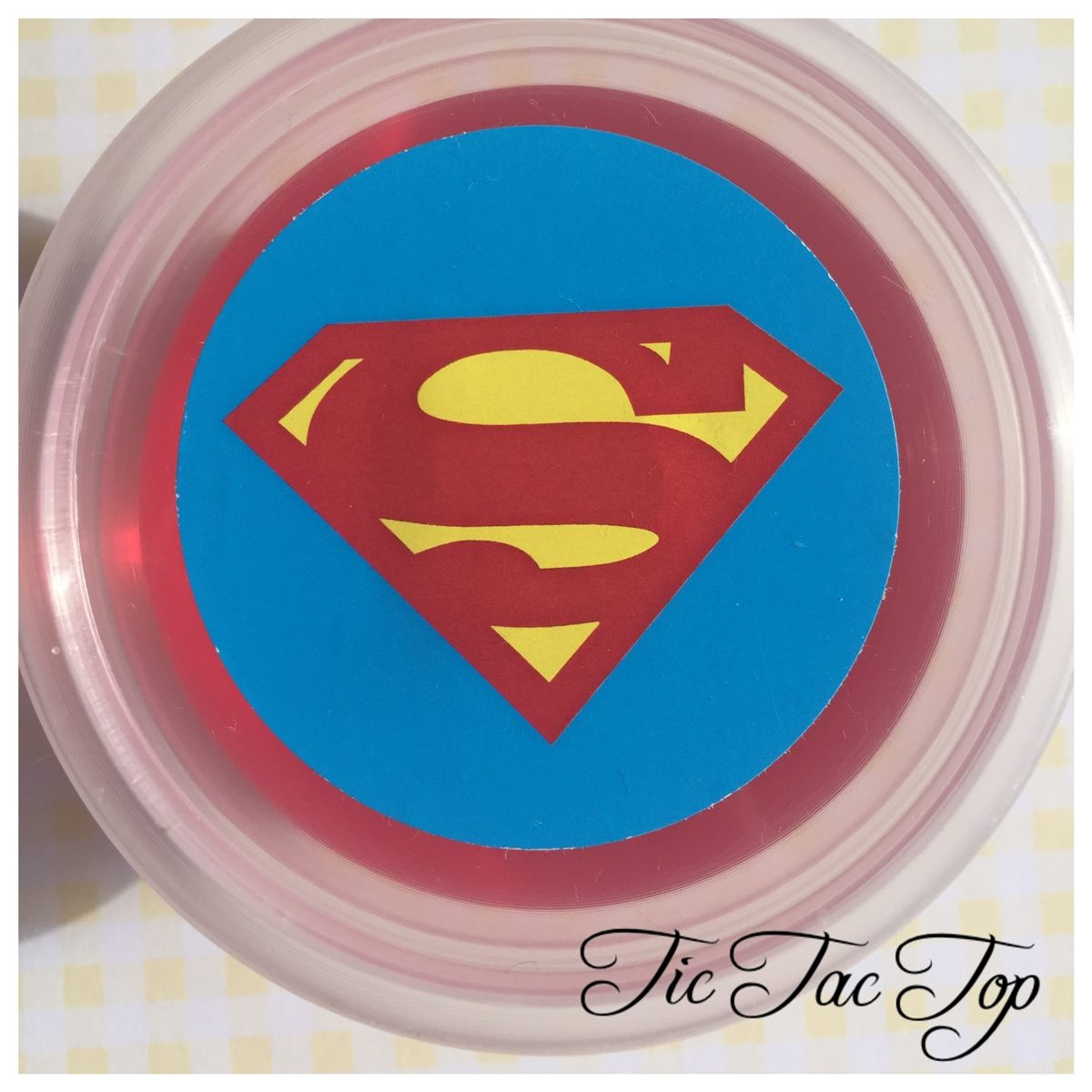 Superman Jelly Cups - 12/set