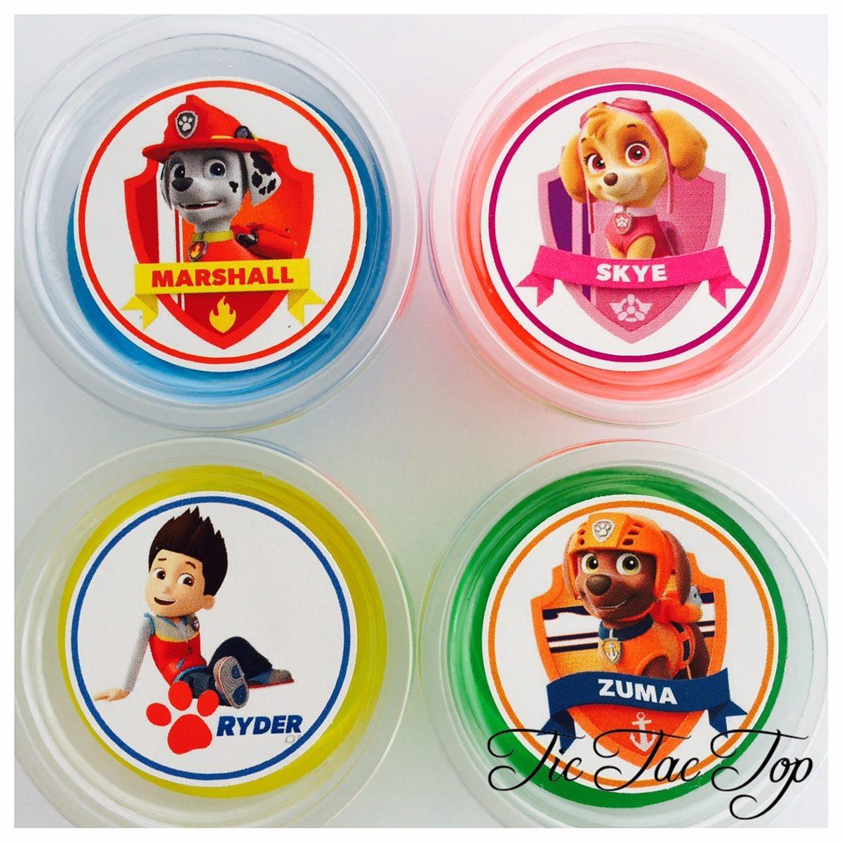 Paw Patrol Jelly Cups - 12/set