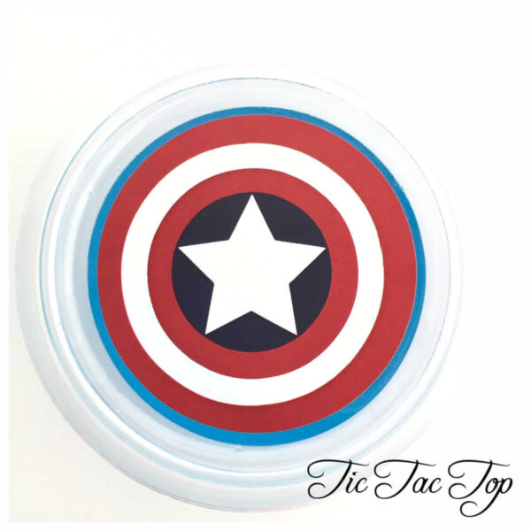 Captain America Avengers Jelly Cups - 12/set