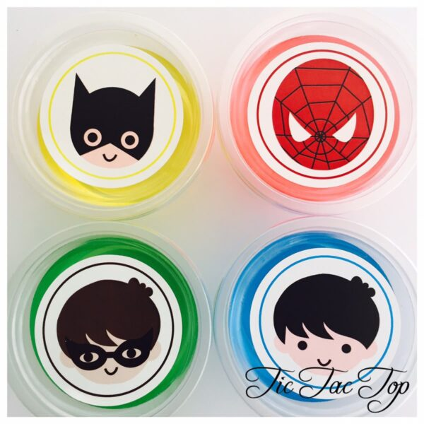 Superhero Jelly Cups - 12/set