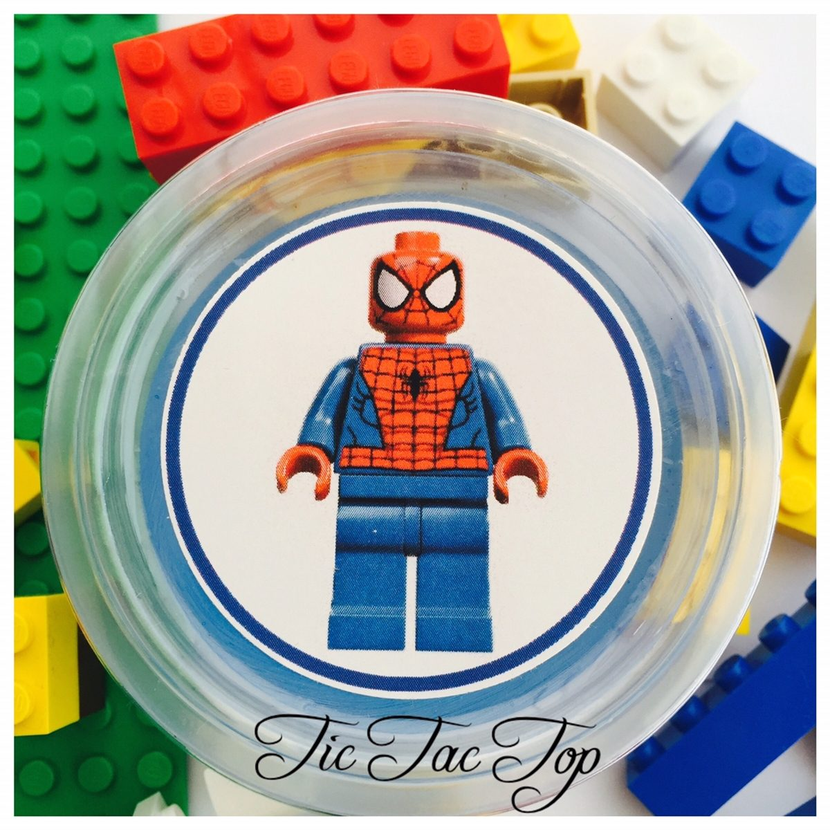 Lego Superhero Jelly Cups - 12/set
