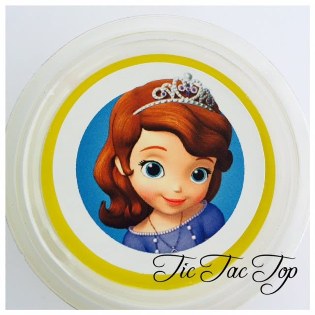 Sofia The First Jelly Cups - 12/set