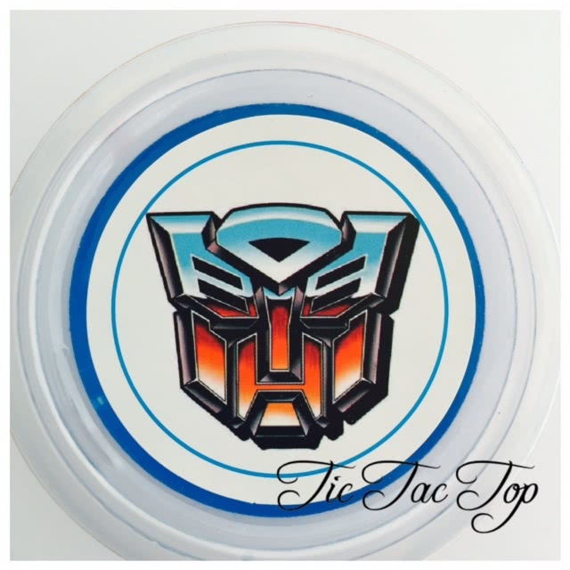 Transformers Jelly Cups - 12/set
