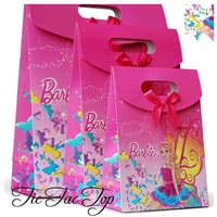 Barbie Doll Paper Gift & Lolly Bag - 6 Bags
