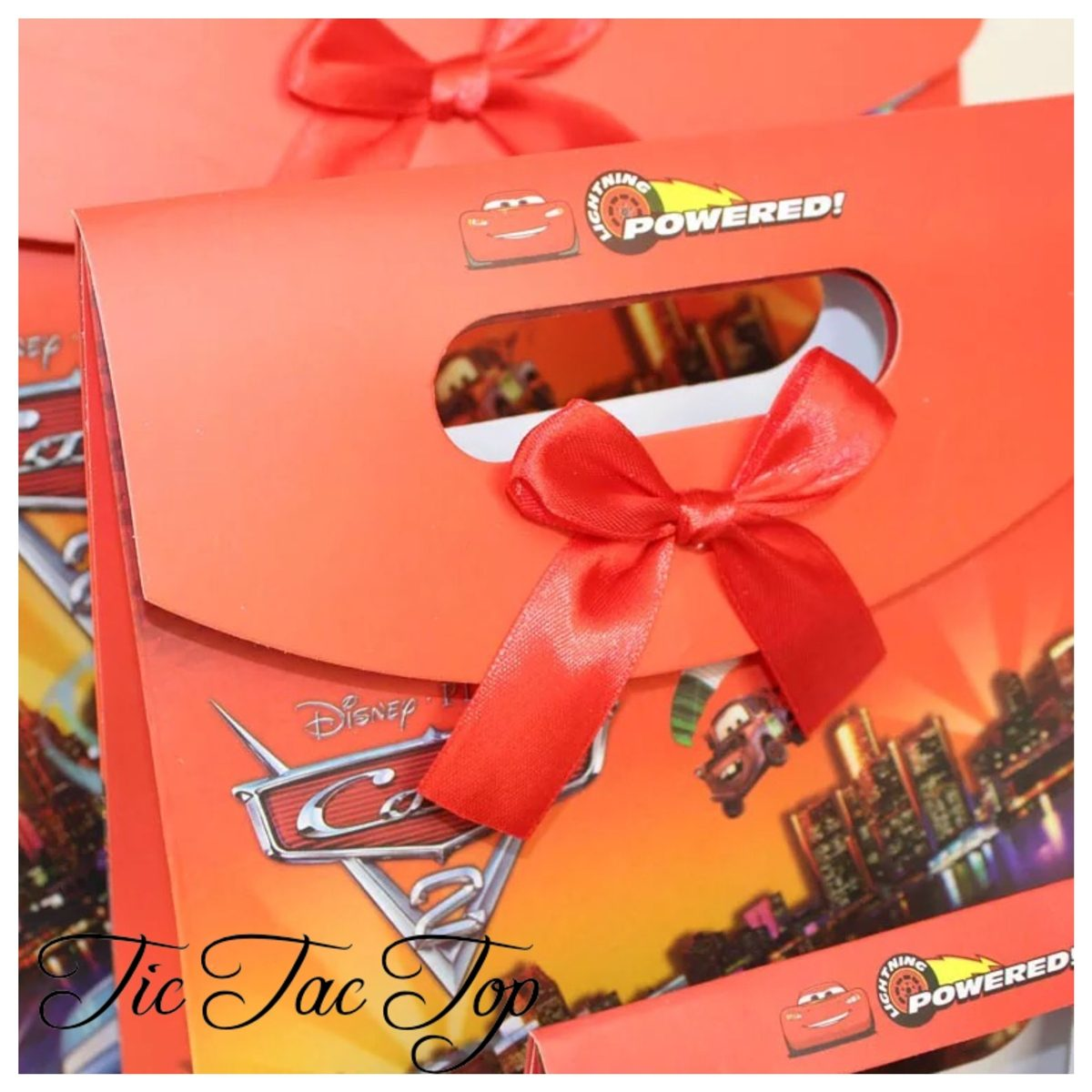Disney CARS Paper Gift & Lolly Bag - 6 Bags