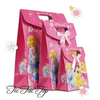 Disney Princess Paper Gift & Lolly Bag - 6 Bags