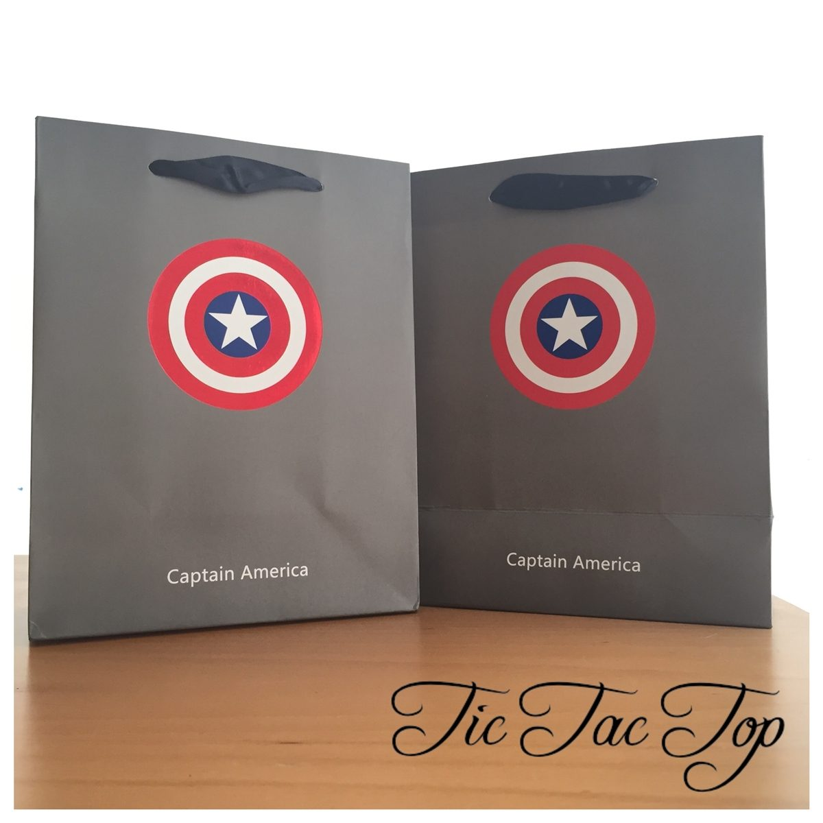 Captain America Paper Gift & Lolly Bag - 6 Bags