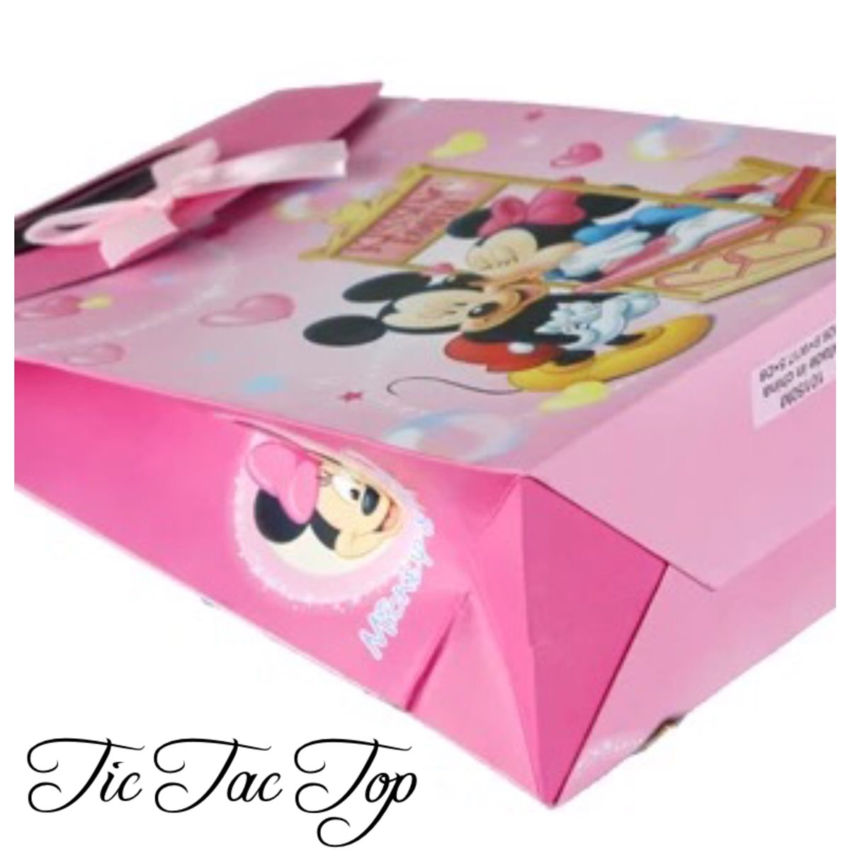 Mickey & Minnie Mouse Stall Gift & Lolly Bag - 6 Bags