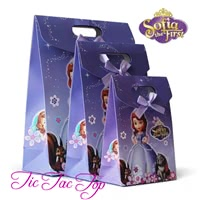 Sofia The First Paper Gift & Lolly Bag - 6 Bags