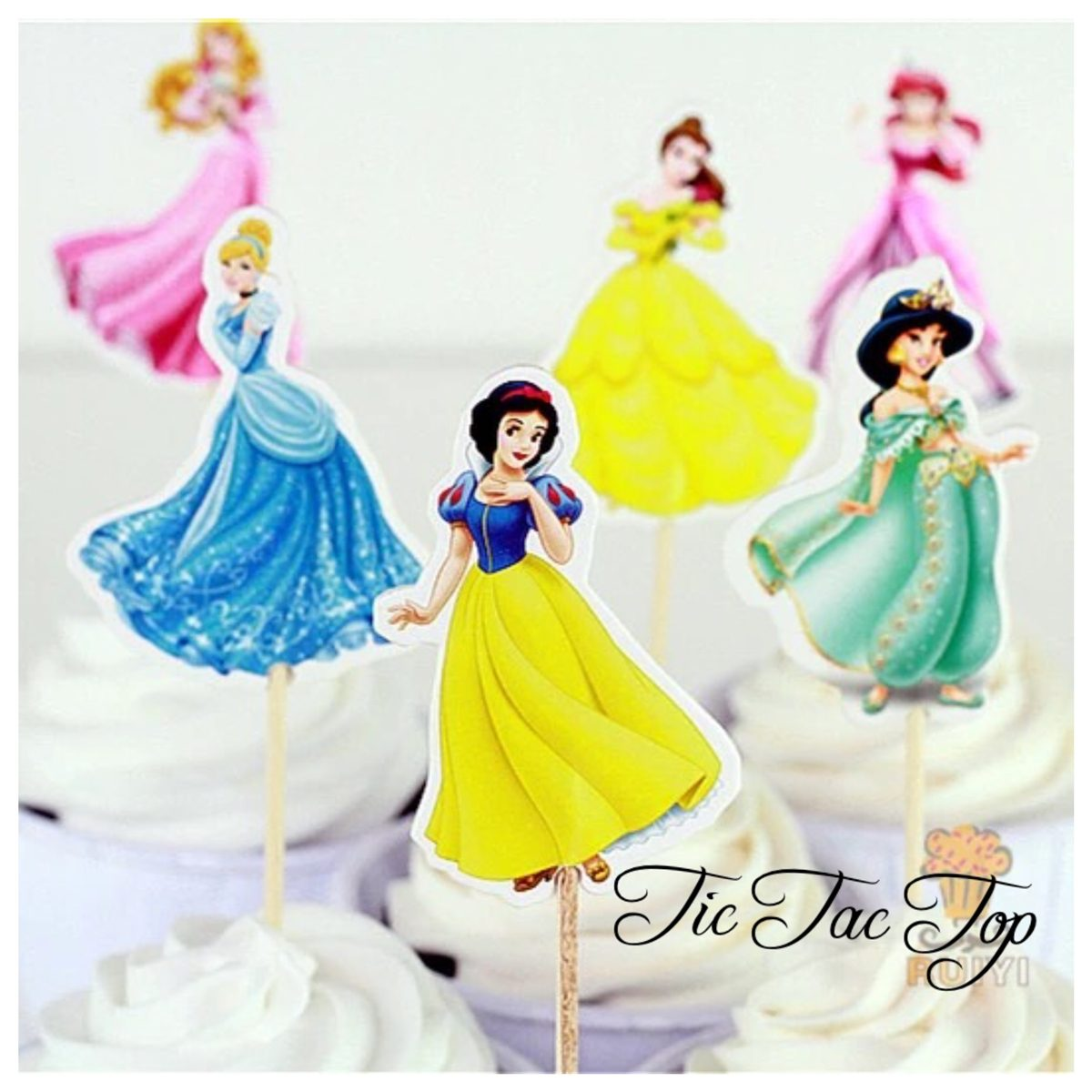 Disney Princess Topper Picks