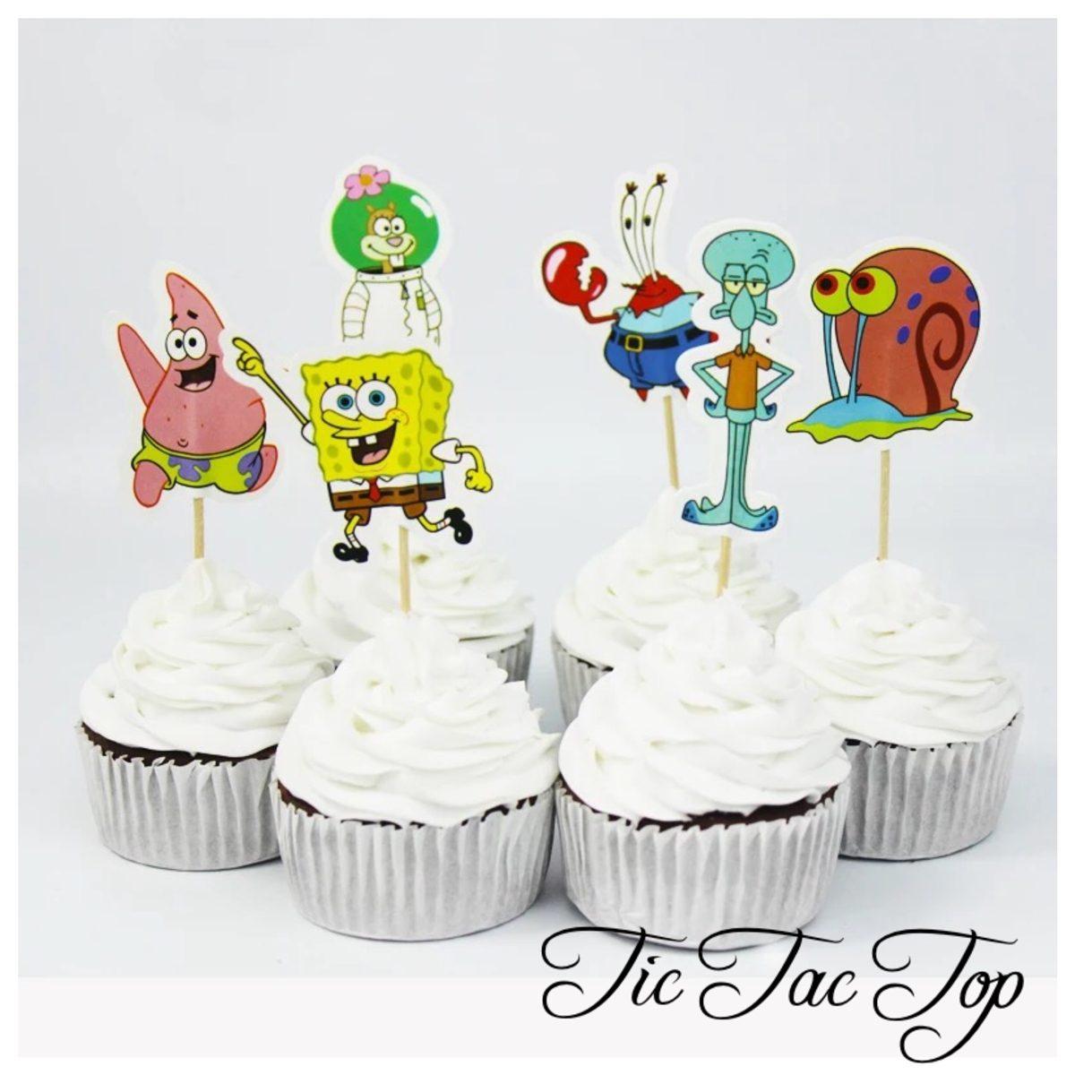 Spongebob SquarePants & Friends Topper Picks - 12/set