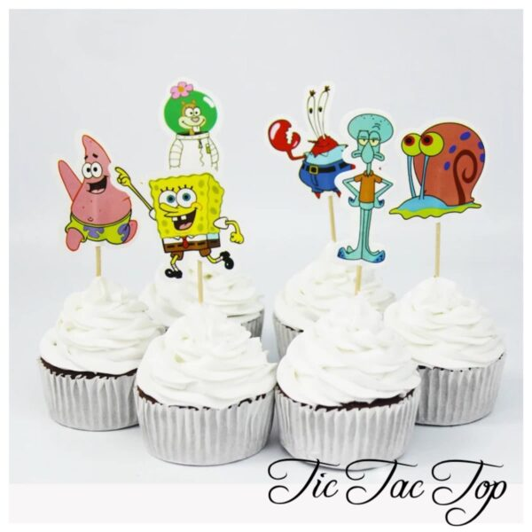 Spongebob SquarePants & Friends Topper Picks - 12/set