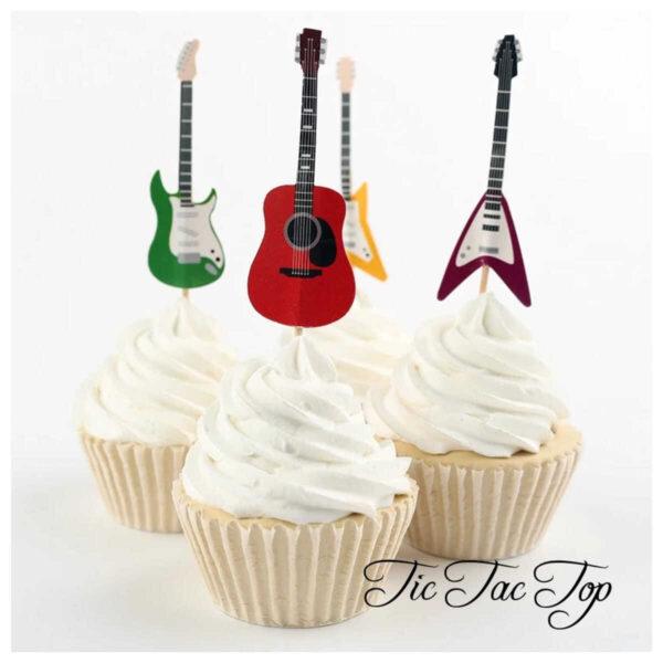 Guitar Topper Picks - 12pcs