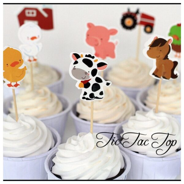 Animal Farm Topper Picks - 12pcs