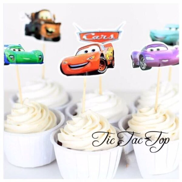 Disney Cars Topper Picks - 12pcs