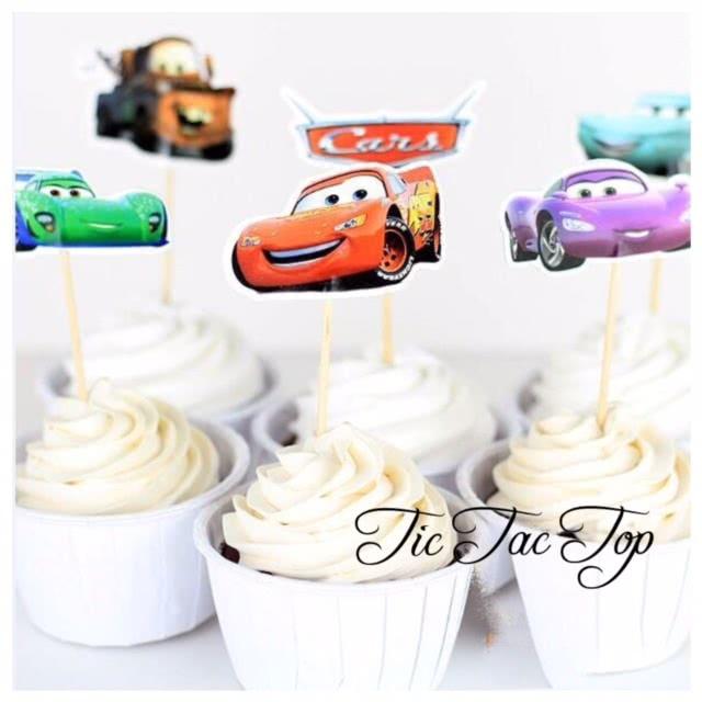 Disney Cars Topper Picks - 12pcs