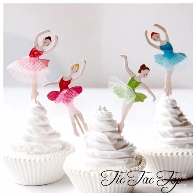 Ballet SPECIAL Topper Picks - 12pcs