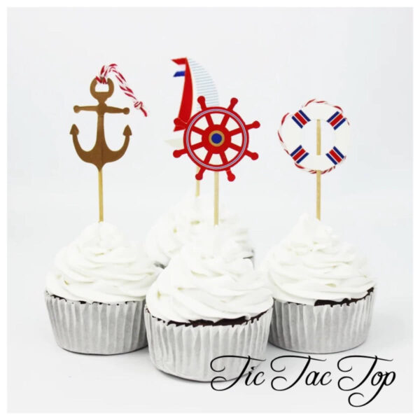 Sailing Club Topper Picks - 12pcs
